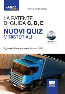 Quiz ministeriali esame teoria patenti superiori C1, C1E, C, CE, D1, D1E, D, DE