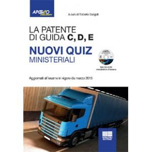 La patente di guida C, D, E nuovi quiz ministeriali