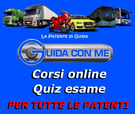 Corsi online e quiz per tutte le patenti di guida